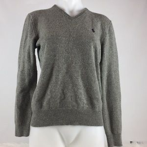Polo by Ralph Lauren gray v-neck sweater